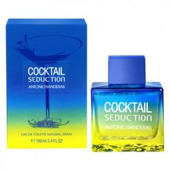 ادوتویلت antonio banderas cocktail blue for men