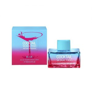 ادوتویلت antonio banderas cocktail seduction blue eau de toilette for women