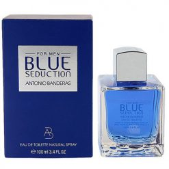 ادوتویلت antonio banderas in blue seduction eau de toilette for men